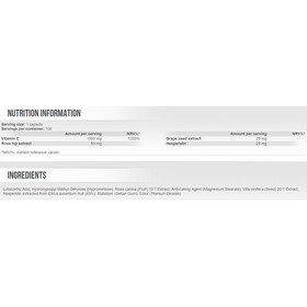 SCITEC C1000 + Bioflavonoid Capsules